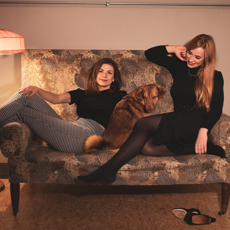 Lena und Hanna von dem Podcast Gründungsgeflüster