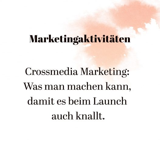 Crossmedia Marketing mit Gründungsgeflüster