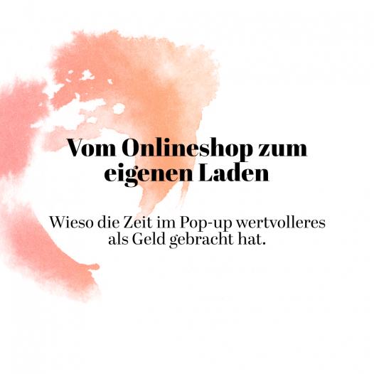 Den Onlineshop im Februar gestartet, den eigenen Laden ab April. Unsere Eindrücke, Wünsche und Emotionen findet Ihr in dieser Podcast-Episode.