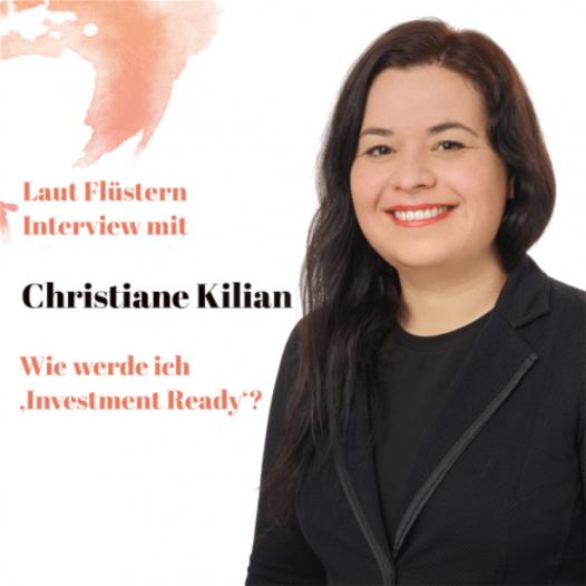 Christiane Kilian im Interview mit Gründungsgeflüster