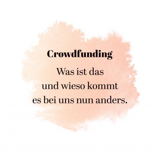 Titelbild Crowdfunding